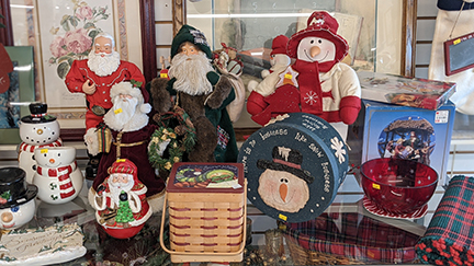 The Holiday season is alive at the Second Chance Re-Sale Shop in Brighton Michigan