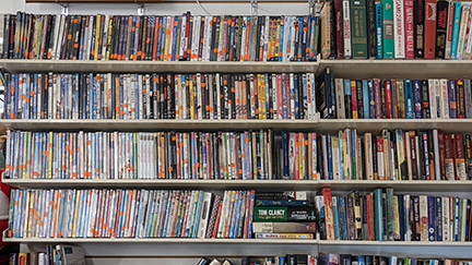 Second Chance Re Sale Shop has a large selection of DVD's starting at .50